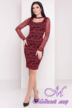 Элегантное женское вечернее платье (р. S, M, L) арт. Олифта - 8778, фото 2