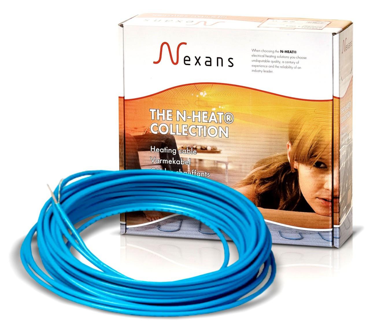 Обогрев ступеней, дорожек, площадок нагревательный одножильный кабель Nexans TXLP/1 - 28 ВТ/М 640 Вт.