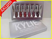 Набор матовых жидких помад Kylie Edition, фото 1