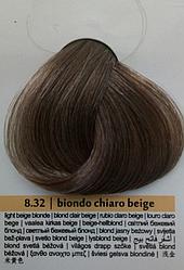 Краска для волос Colorianne Prestige Светлый Бежевый Блонд 8.32