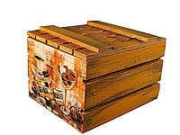 Ящик с крышкой «Кофе и шоколад»