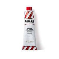 Средства для бритья Proraso Крем для бритья Proraso Red Line Emollient Shaving для жесткой щетины с маслом ши 150 мл