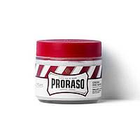 Средства для бритья Proraso Крем до бритья Proraso Red Line Pre-Shaving Emollient and Soothing для жесткой щетины с маслом ши 100 мл