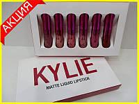 Набор матовых помад Kylie Valentine's Edition, фото 1