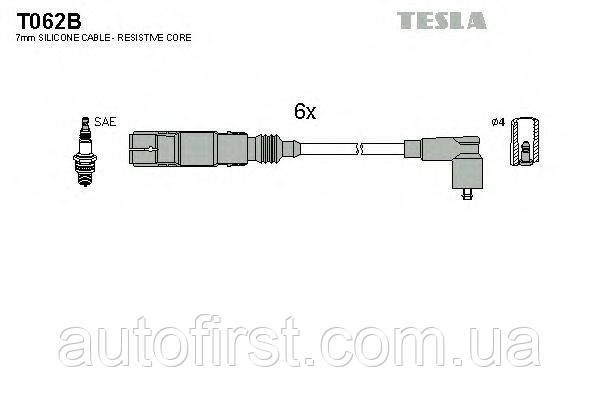 Комплект проводов зажигания Tesla T062B Ford, VW