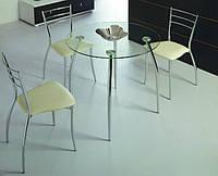 Стол стеклянный круглый GG/B2206C (DST-206r)