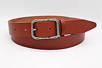 Классический ремень рыжий 35 мм буйвол