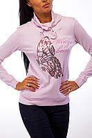 Розовая спортивная кофта