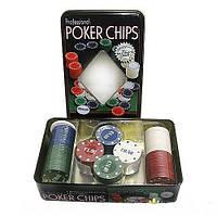 Покерный набор на 100 фишек