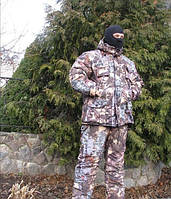 Зимний костюм для охоты и рыбалки Хвойный лес теплый водоотталкивающий