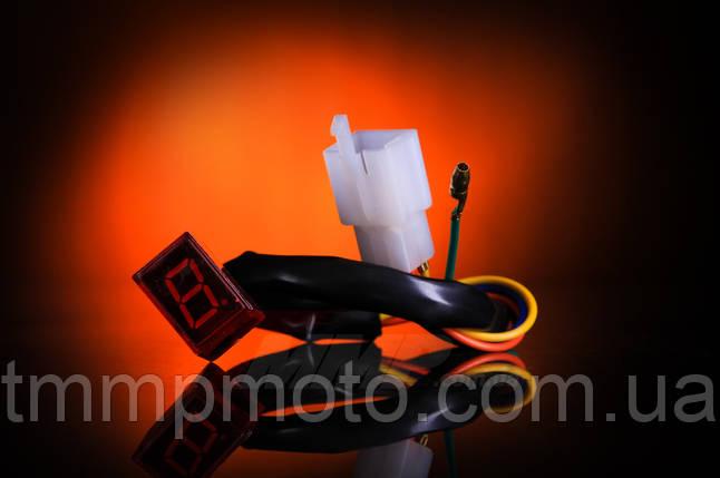 Индикатор включенной скорости Дельта в корпусе ( для хром приборов ), фото 2