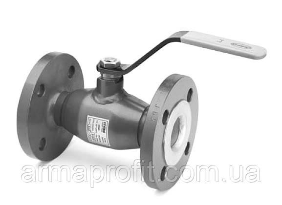 Кран шаровый стандартнопроходной фланцевый EFAR WKС-1a Ду15 Ру40