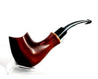 Курительная трубка грушевая Седло, подарок курильщику