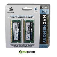 Память для ноутбука CORSAIR 8GB DDR3 SO-DIMM 1066Mhz Apple MacBook, MacBook Pro & iMac