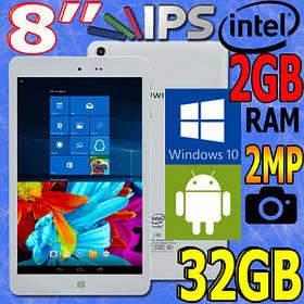 Планшет 2 в 1 Chuwi Hi8 CWI519 Windows+Android 2GB\32GB  intel + ПОДАРКИ