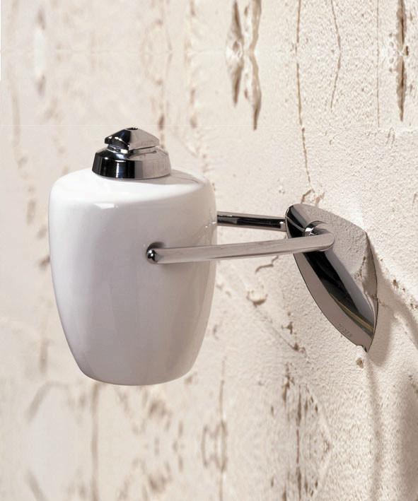 Дозатор для жидкого мыла керамический навесной Napoli