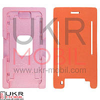 Фиксатор дисплейного модуля при склейке c стеклом + рамкой iPhone 6, 6S (для вакуумных машин)