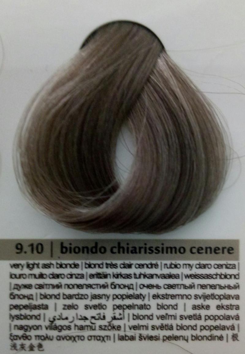 Краска для волос Colorianne Prestige Очень Светлый Пепельный Блонд 7.10