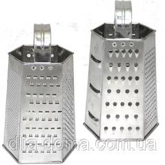 Тёрка шестигранная 6ти сторонняя 100*70*210 мм