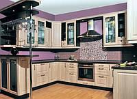 Кухонная мебель, кухни на заказ с пленочными МДФ фасадами, фото 1