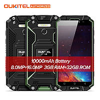 "Смартфон Oukitel k10000 max, 3/32Gb, 16/8Мп, 8 ядер, 2sim, экран 5,5"" IPS, 10000mAh, IP68, 4G, Android 7.1, фото 1"