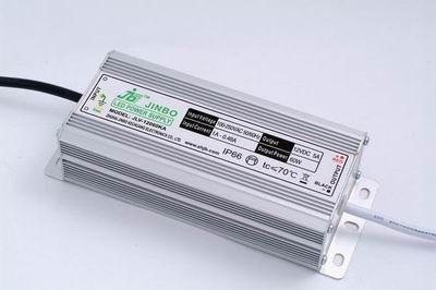 Герметичный блок питания JLV-12060KA 12 Вольт 60W 5А IP66