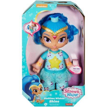 Кукла Шайн говорящая Shimmer and Shine Bedtime Wishes Shine