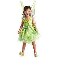 Карнавальный костюм ТинкерБелл Tinkerbell Динь-Динь + светящиеся крылья Дисней/ Disney, фото 1