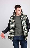 Куртка мужская камуфляжная осень - зима