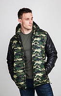 Куртка мужская камуфляжная осень - весна