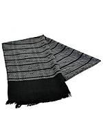 Серый шарф мужской