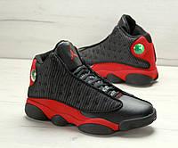 Мужские баскетбольные кроссовки Nike Air Jordan Melo 13 Black/Red (топ качество)