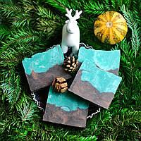 Натуральное мыло «Горы Лапландии». Ограниченная рождественская серия, 100 граммов