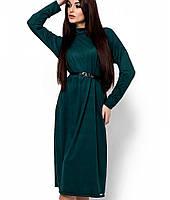 Женское замшевое платье миди (Клементина kr)