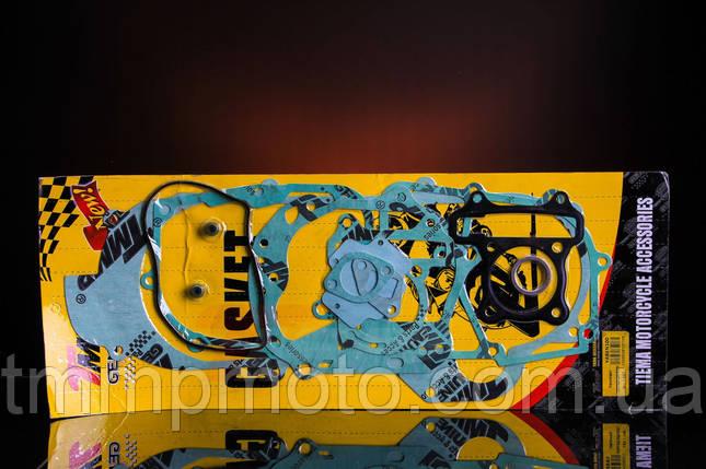 Набор прокладок двигателя 4т  YABEN-100 см3 короткий                     ТММР, фото 2