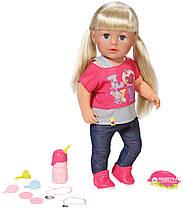 Кукла пупс Baby Born Беби Борн старшая сестренка сестра Sister Zapf Creation 820704