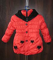 Детская зимняя курточка на девочку. Возраст 4-5/6-7 лет