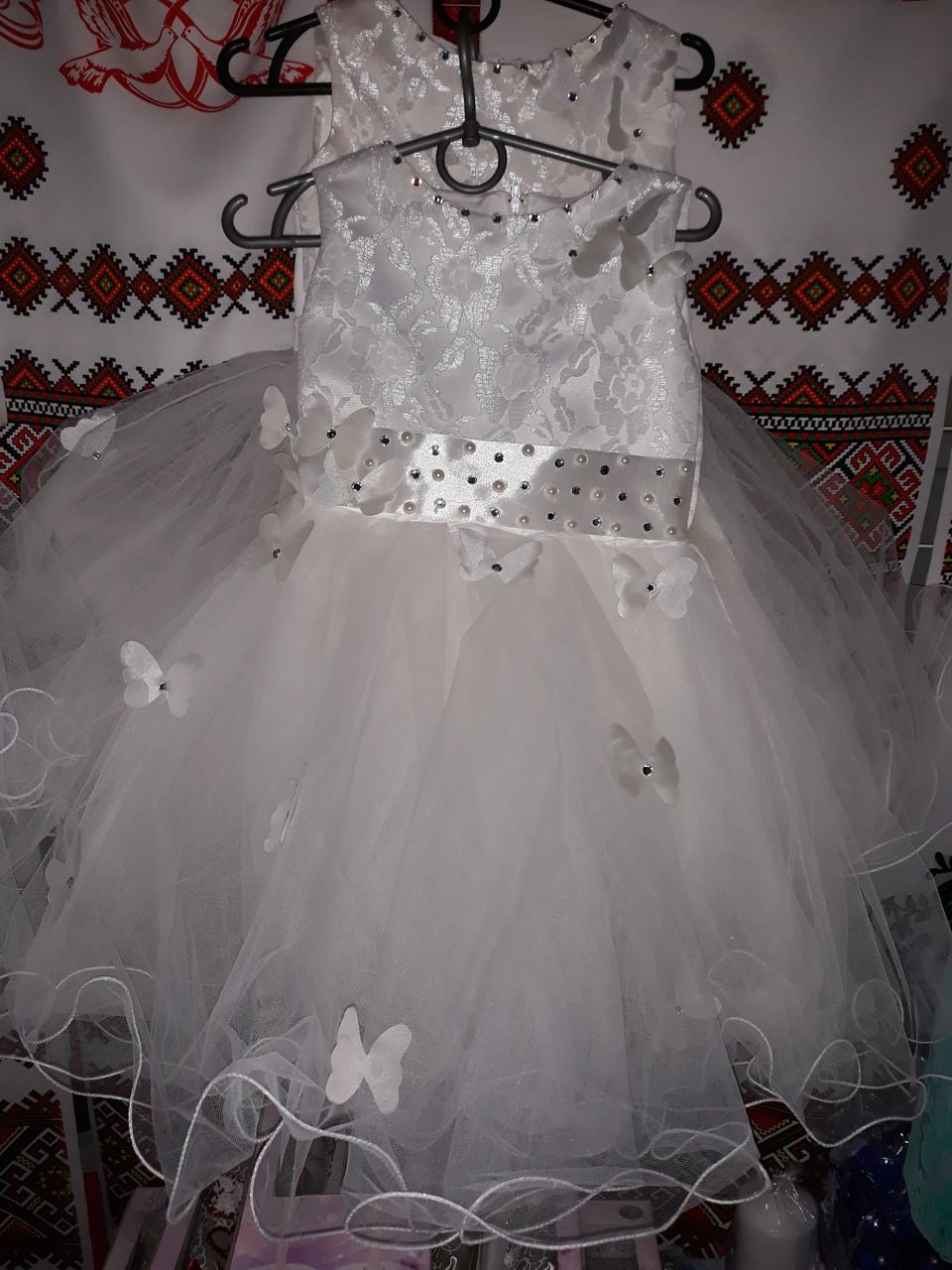 dd2259ede6d Нарядное детское платье для девочки в расцветке