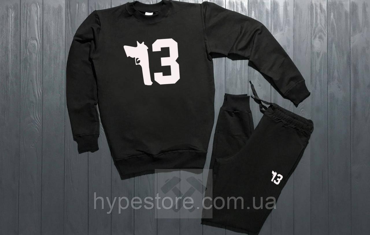 Спортивный костюм PHILIPP PLEIN (черный), Реплика