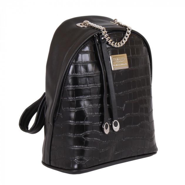 Сумка-рюкзак de esse черная