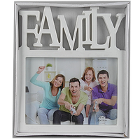 Фоторамка Family 1 фото белая арт.S-29