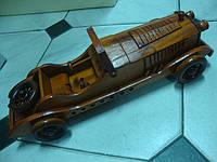 Шкатулка машина из дерева