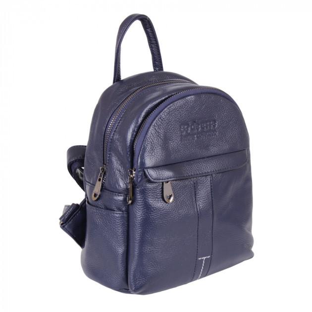 Сумка-рюкзак de esse L26145-2 Синяя