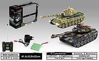 Танковый бой детский на радиоуправлении 99821 ZEGAN T-90 vs KingTiger 1:28