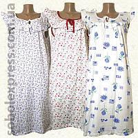 Ночные сорочки женскиея трикотажные рюшевые