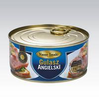 Английский гуляш - свинное мясо Nasze Smaki Gulasz Angielski 300g