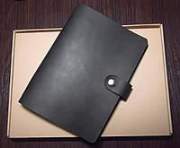 Блокнот с натуральной кожи, Leather Manufacture, бесплатная гравировка