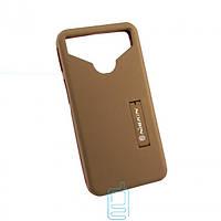 Универсальный чехол-накладка Nillkin Soft Touch 5.0-5.3″ коричневый