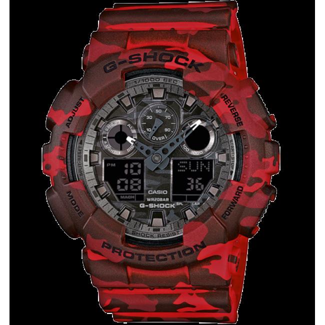 Часы Casio G-Shock GA-100CM-4A Camouflage В.