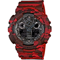 Часы Casio G-Shock GA-100CM-4A Camouflage В., фото 1